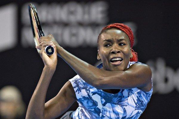 Venus Williamsová počas turnaja v Quebecu.