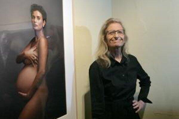 Annie Leibovitzová a Demi Moorová.