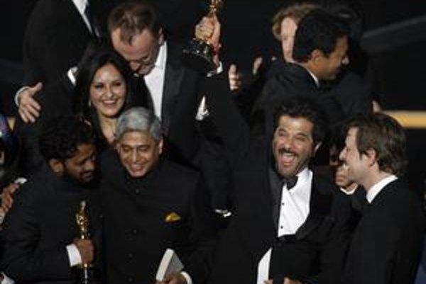 Najviac sošiek Oscara získal Milionár z chatrče.