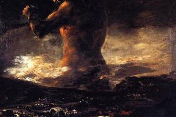 Slávny obraz, ktorého autorstvo sa dlho pripisovalo Goyovi.