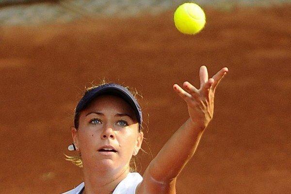 Kristína Kučová postúpila v Bukurešti do semifinále.