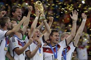 Nemci sa tešia z titulu majstrov sveta.