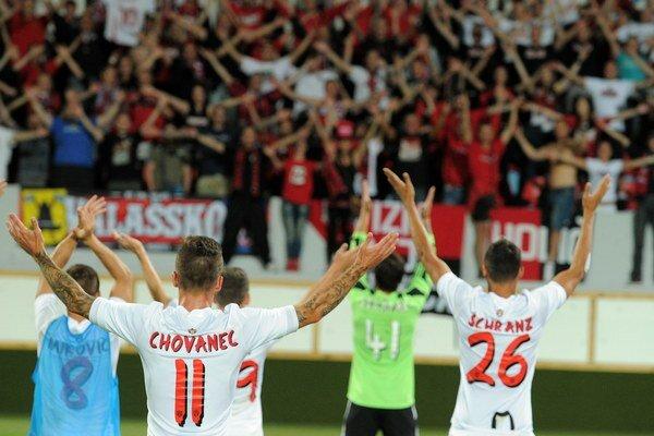 Spartak Trnava má oddaných fanúšikov, časť je však problémová.