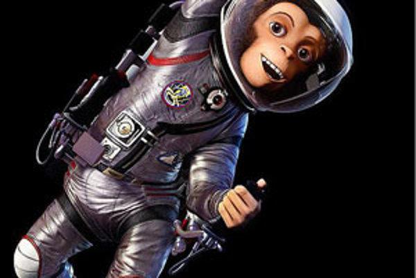 Skutočný vesmírny pobyt šimpanza Hama sa skončil úspešne. Vo filme je to tak trochu katastrofa.