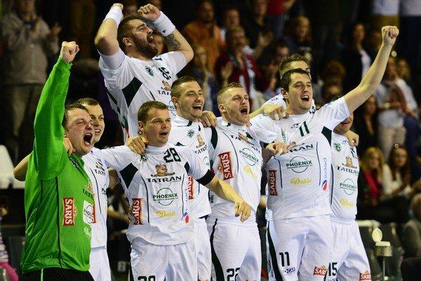 V apríli získali hádzanári Prešova aj Slovenský pohár.