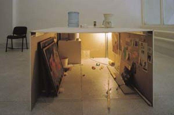 Roman Ondák: Múzeum/sklad, 1999