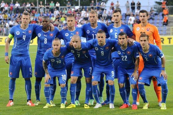 Slovenská reprezentácia pred piatkovým zápasom s Čiernou Horou.