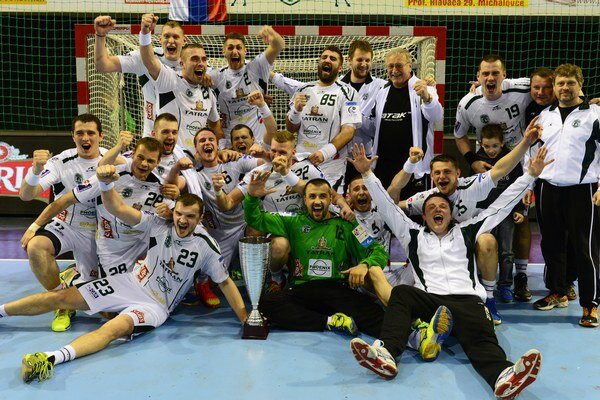 Takto tento rok Prešovčania oslavovali zisk domáceho pohára.
