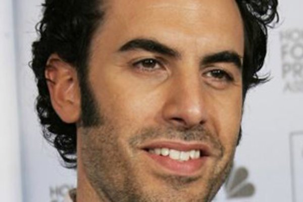 Sacha Baron Cohen, televízny a filmový predstaviteľ postáv ako Borat či Ali G.