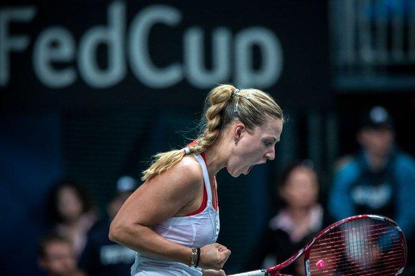 Dominika Cibulková vynechala ostatný zápas Fed Cupu v Kanade.