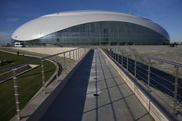 Aréna Boľšoj, kde budú hrať hokejisti HK Soči Kontinentálu hokejovú ligu.