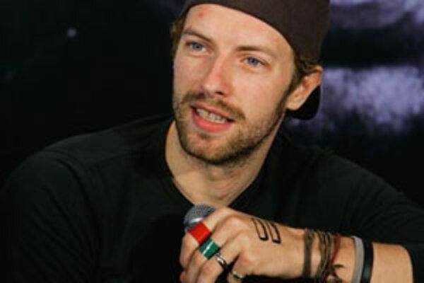 Spevák britskej skupiny Coldplay Chris Martin.