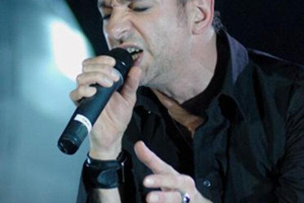 David Gahan, spevák skupiny Depeche Mode.