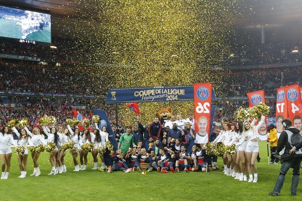 Naposledy na Stade de France oslavovaval PSG zisk domáceho Pohára.