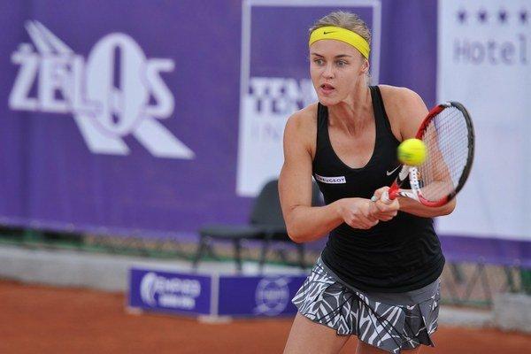 Karolína Schmiedlová sa v Trnave prebojovala do finále.