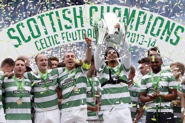 Majster škótskej Premier League Celtic Glasgow.