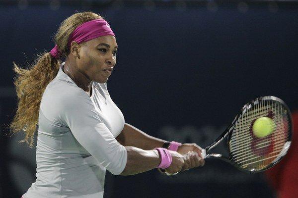 Jasne prvou v rebríčku WTA je Serena Williamsová.