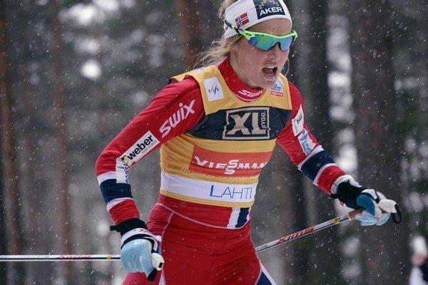 Therese Johaugová bojuje o titul svetovej šampiónky.