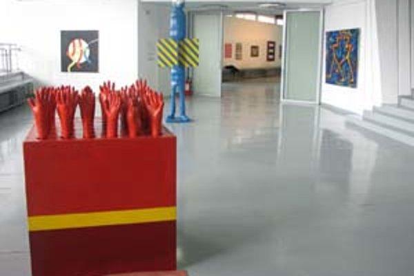 Slovenská expozícia v Bukurešti.