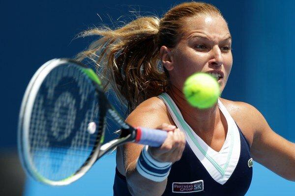 Dominika Cibulková predvádza v Austrálii výborný tenis.