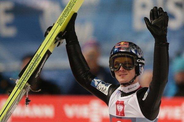 Rakúsky skokan na lyžiach Thomas Morgenstern.
