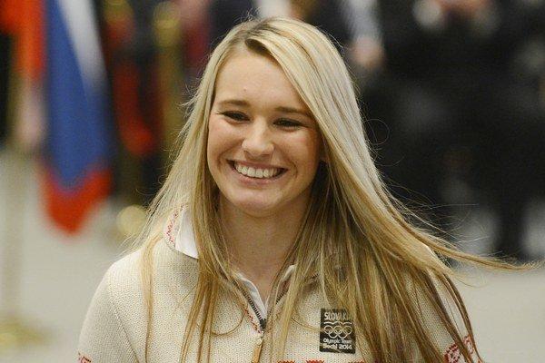 Najmladšia z biatlonového výberu v Soči Paulína Fialková.