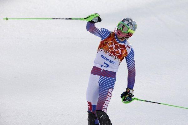 Slovák Adam Žampa zvládol slalom do superkombinácie fantasticky.