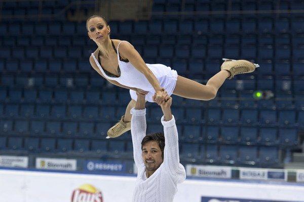 Športová dvojica Oľga Beständigová a Ilhan Mansiz.