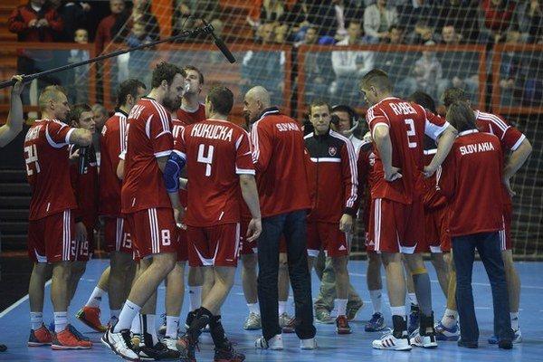 Slovensko v Rige prehralo zápas s Litvou.