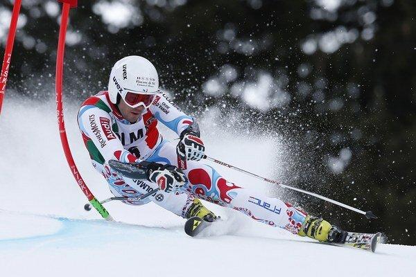 Ani najrýchlejší prvého kola obrovského slalomu v Adelbodene nestačil Thomasovi Fanarovi na víťazstvo.