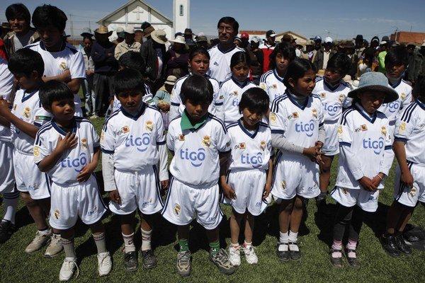 Real otvoril školu aj pred rokom v bolívijskom El Alto.