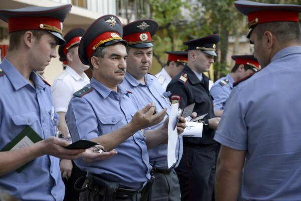 Ruská polícia sa pripravuje na olympiádu v Soči.