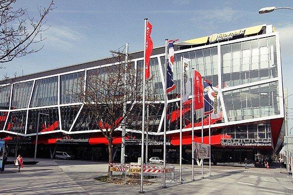 Slovnaft Arena.