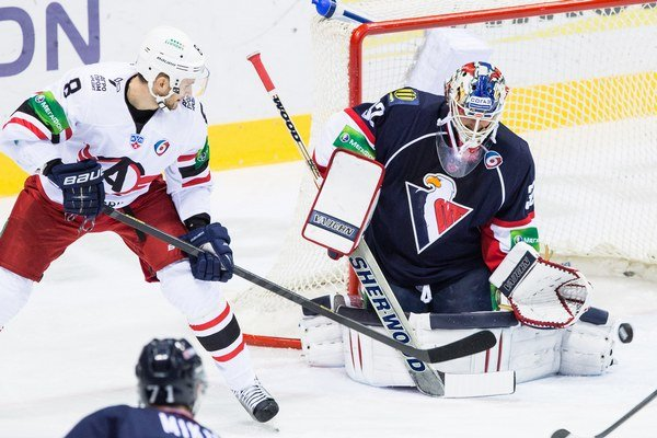 V nedávnom domácom zápase sa Slovanu podarilo s Jekaterinburgom vyhrať 3:1.