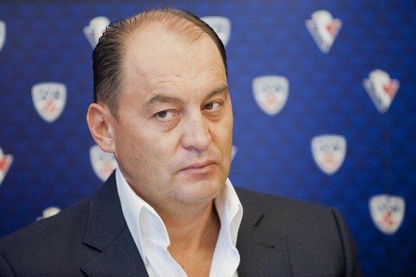 Generálny manažér Slovana Maroš Krajči.