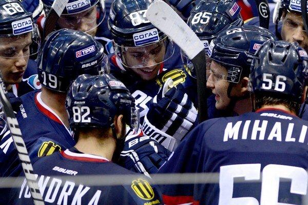Slovan sa v KHL tešil z druhého víťazstva za sebou, v Chabarovsku vyhral 5:2.