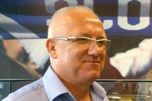 Predseda Bratislavského futbalového zväzu Juraj Jánošík.