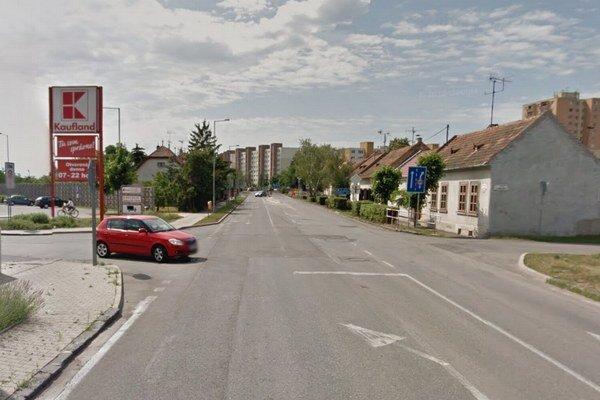 Trnavská ulica v Senci.