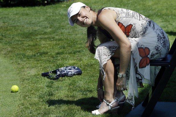 Martina Hingisová má 32 rokov.