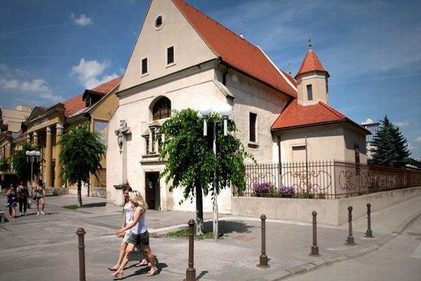 Kostol sv. Heleny v Trnave.