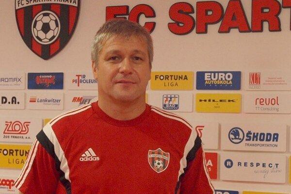 Nový tréner Spartaka Trnava Ivan Hucko