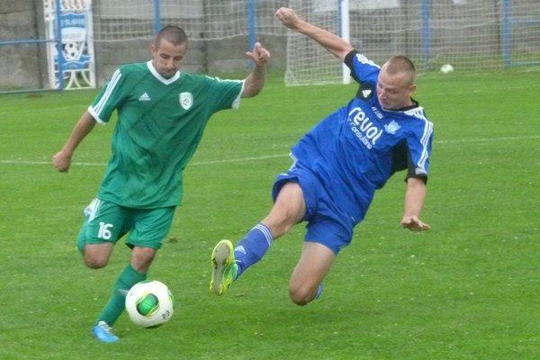 Patrik Dolinaj mal najbližšie ku gólu. Nakoniec však Pohronie v Bolerázi neinkasovalo.