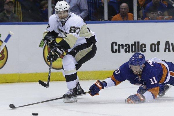 Crosby ťahá svoj tím, nahral na tri z piatich gólov Pittsburghu, vrátane víťazného.