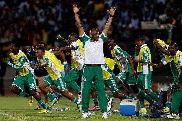 Postupová radosť nigérijskej lavičky.