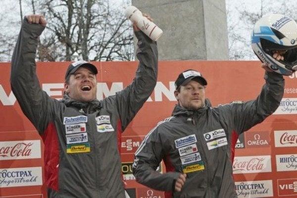 Švajčiari Beat Hefti (vľavo) a Thomas Lamparter.