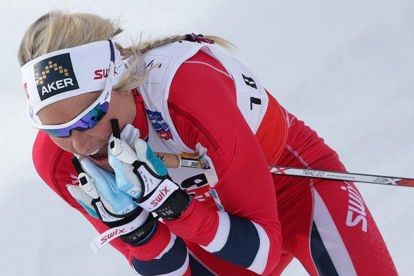 Nórska bežkyňa na lyžiach Therese Johaugová.