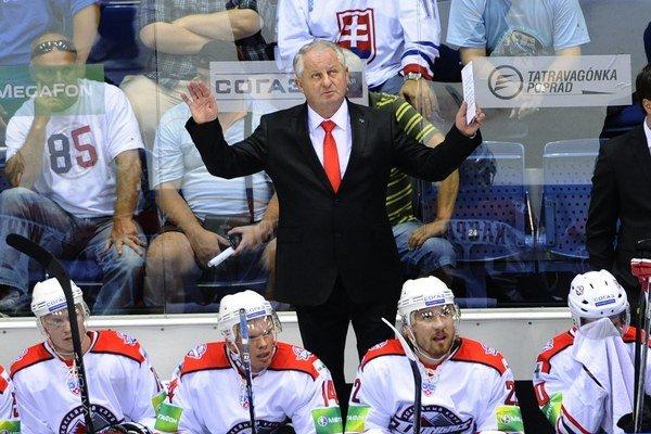 Július Šupler uviedol nováčika z Donecka do KHL. Na play off však s ním nedosiahol, a tak musel skončiť.