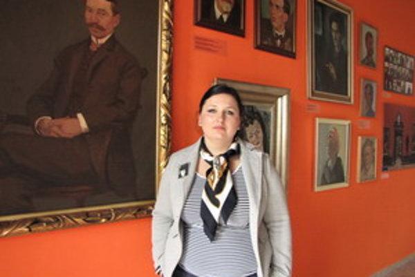 Ľudmila Kasaj Poláčková.