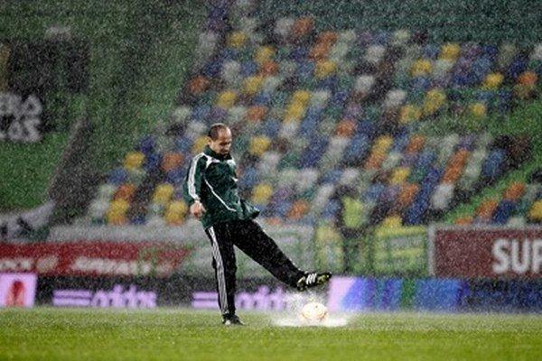 Štadión Sportingu.