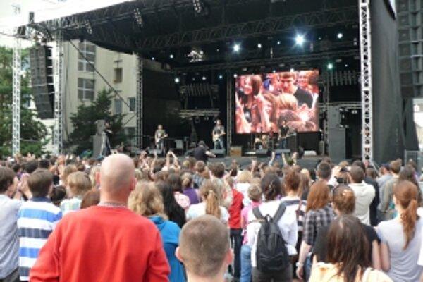 Festivalový program zaplnil trnavské námestie.